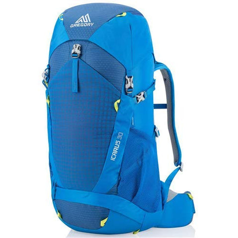Gregory Mountain Products Icarus 30 Liter Kid's Hiking Backpack, Hyper Blue, One Size