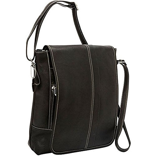 David King & Co. Deluxe Square Messenger, Black, One Size