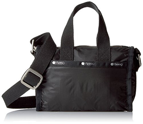 Lesportsac Women'S Mini Weekender, True Black