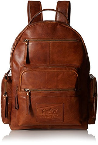 Rawlings Rugged Backpack, Cognac, One Size