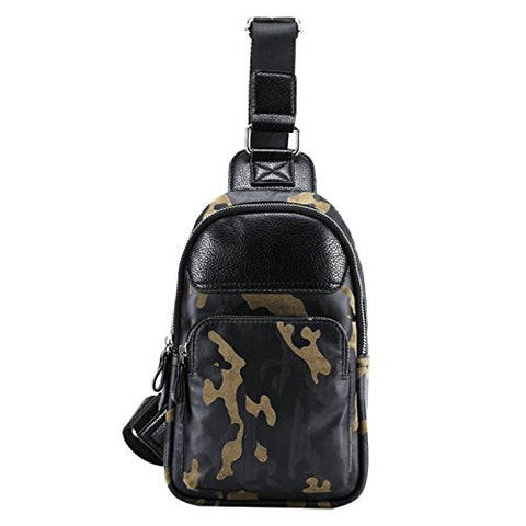 Tidog Casual Camouflage Man Fashon Chest Bag