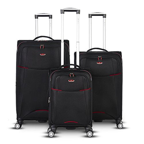 Gabbiano Manchester Collection 3 Piece Expandable Spinner Set (Red)