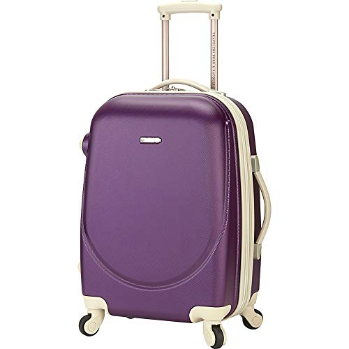 "TPRC Barnet Collection 20"" Exp. Rolling Carry-on, Purple"