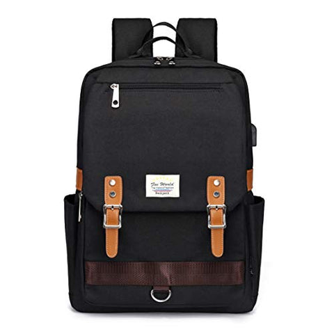Fox World Laptop Backpack Original Designed Casual College Daypacks Outdoor Sports Rucksack Men