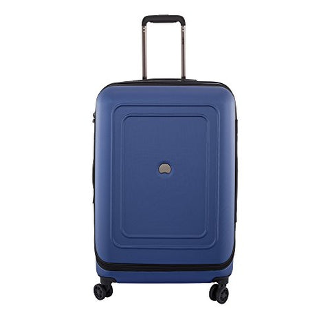"Delsey Luggage Cruise Lite Hardside 25"" Exp. Spinner Trolley, Blue"