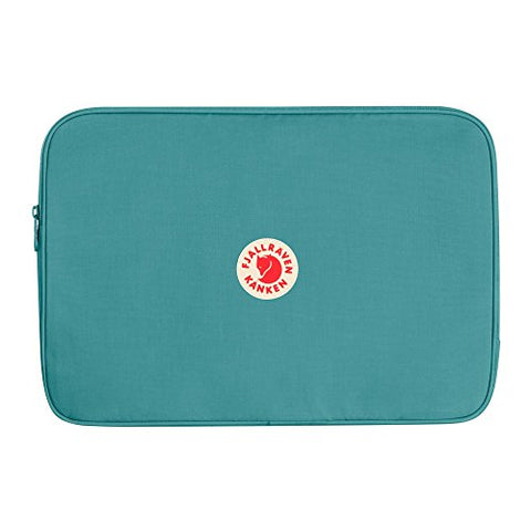 "Fjallraven - Kanken Laptop Case 15"" for School and Work, Frost Green"