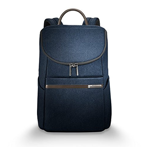 Briggs & Riley Kinzie Street, Small Wide Mouth Backpack, Navy