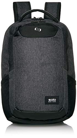 SOLO New York Nomad Navigate, Professional Slim Backpack for Women, Men, fits 15.6 inch Laptop