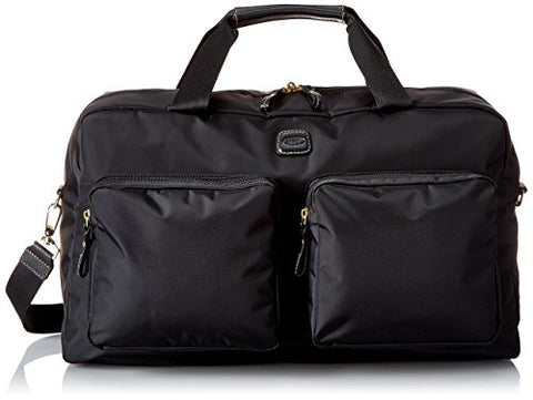 Bric's Luggage Bxl32192 X Bag Boarding Duffel, Black/Black Trim, One Size