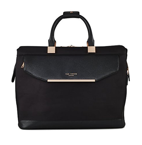 Ted Baker Womens Albany Softside Holdall Bag (One Size, Black)