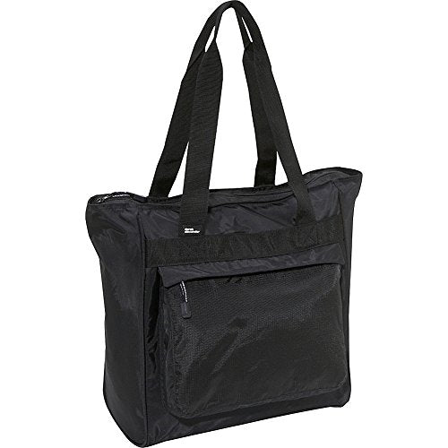 Derek Alexander Large Top Zip Shopper, Black, One Size