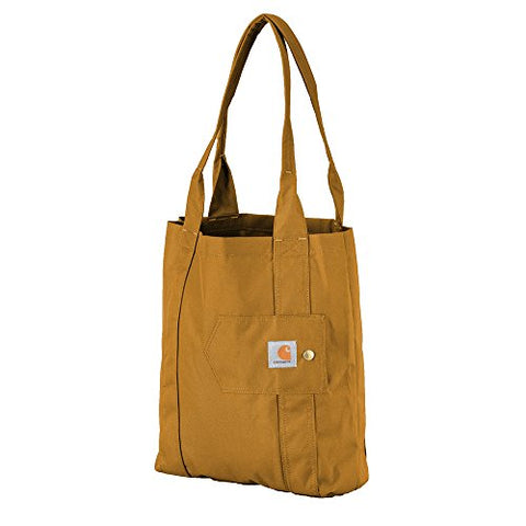 Carhartt Gear 244702B Legacy Women'S Essential Tote - One Size Fits All - Carhartt Brown