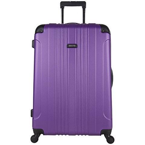 "Kenneth Cole Reaction Out Of Bounds 28"" Hardside 4-Wheel Spinner Lightweight Checked Luggage,"