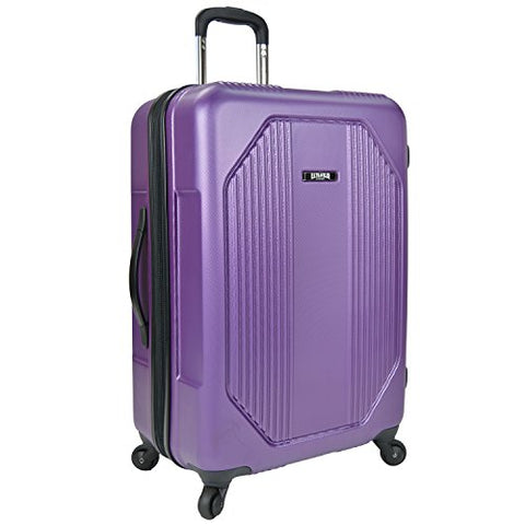 U.S Traveler Bloomington Spinner Suitcase - Purple (27-Inches)