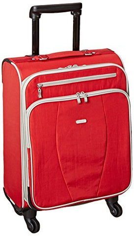 Baggallini Getaway Carryon Travel Roller, Apple, One Size