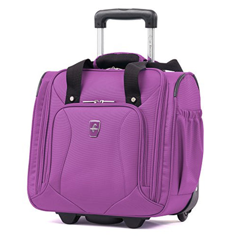 Atlantic Ultra Lite Softsides Rolling Underseat Carry-On, Bright Violet