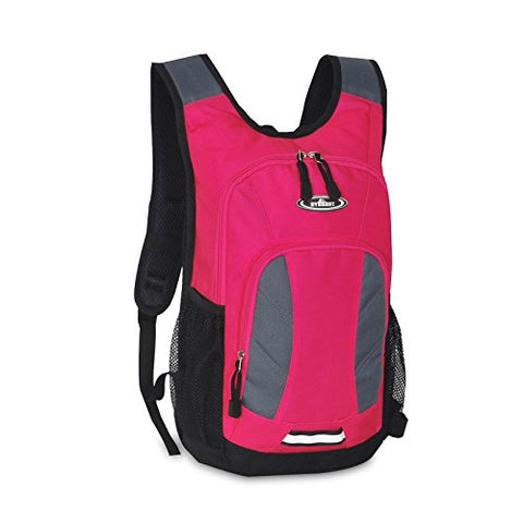 Everest Mini Hiking Pack, Hot Pink/Gray