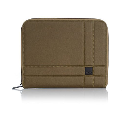 Knomo Tech 14-076 Zip Around Sleeve Wallet,Army,One Size