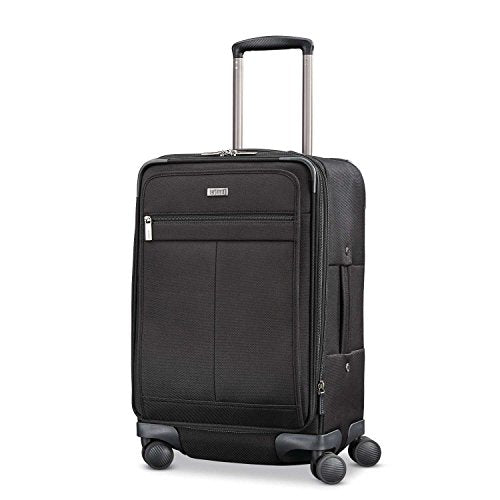 Hartmann Century Global Carry On Expandable Spinner Carry-On Luggage, Basalt Black