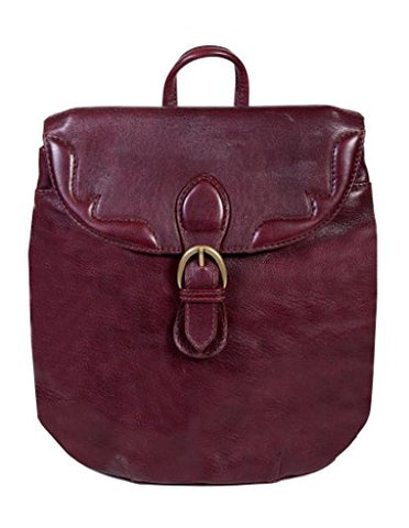 Scully Western Backpack Adult Quick Release Buckle Zip Burgundy 754