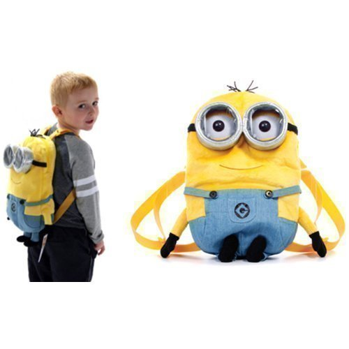 Despicable Me 2 Minions Plush 36Cm Backpack By Posh Paws