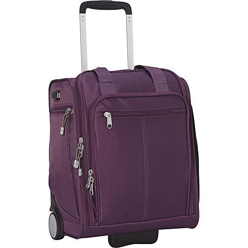 eBags Kalya Underseat Carry-on 2.0 with USB Port (Aubergine)