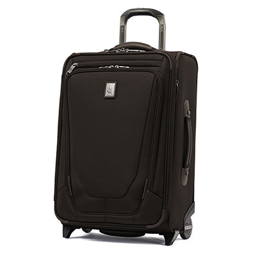 "Travelpro Crew 11 22"" Exp Upright Suiter, Mahogany Brown"
