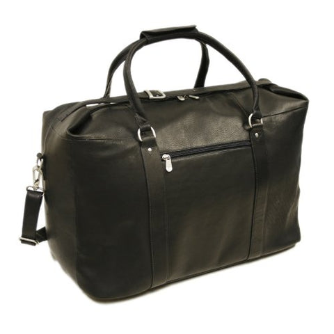 Piel Leather European Carry-On, Black, One Size