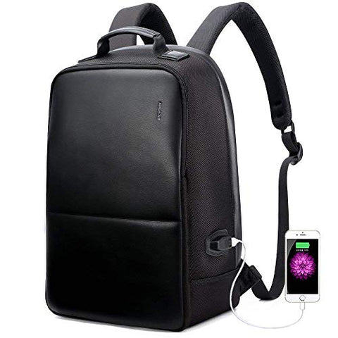 BOPAI Anti-Theft Business Backpack 15.6 Inch Laptop Water-Resistant with USB Port Charging Travel