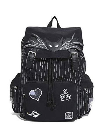 Nightmare Before Christmas Jack Skellington Patches Slouch Backpack