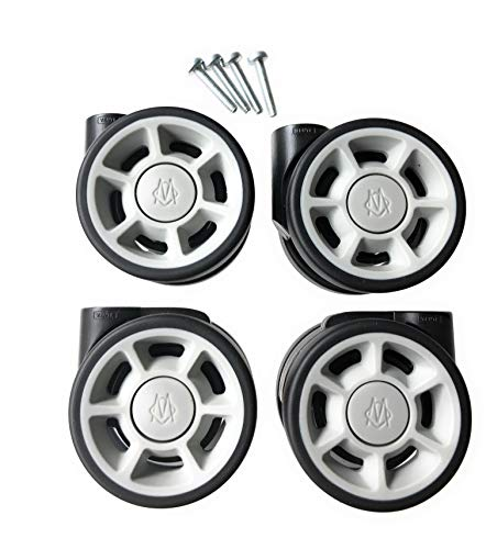 RIMOWA replacement wheels set (4 units) for carry-on of all series: Topas, Classic Flight, Original, Pilot, Salsa, Salsa Air