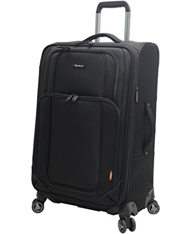 "Pathfinder Luggage Presidential Midsize 25"" Suitcase With Spinner Wheels (25In, Black)"