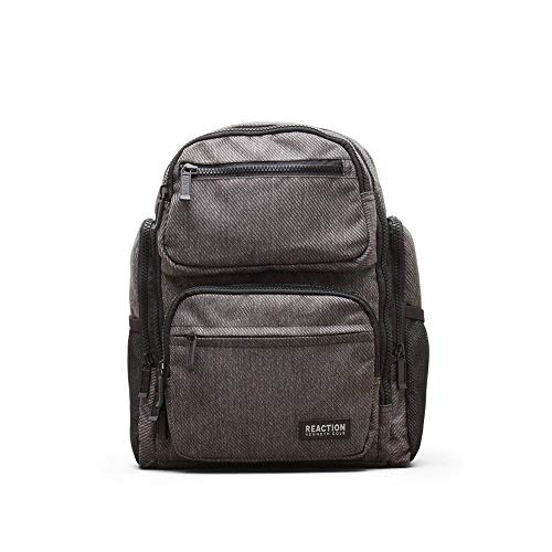 "Kenneth Cole Reaction Heathered-Twill 600D Polyester Dual Compartment 15.0"" Computer Travel"