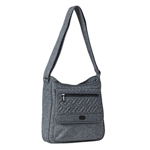 Lug Women'S Hopscotch Shoulder Bag, Heather Grey, One Size