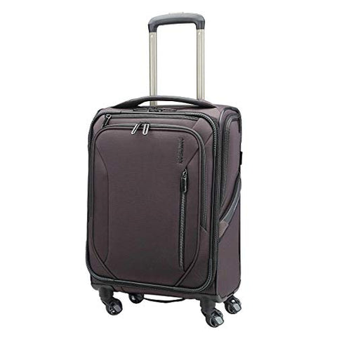 "American Tourister GO 2 Softside 19"" Carry-On Mineral Grey"