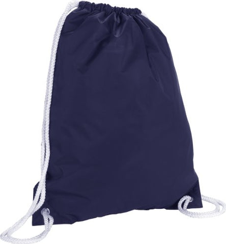 Zuzify Nylon Cinchsack Drawstring Backpack. Ip0106 Os Navy