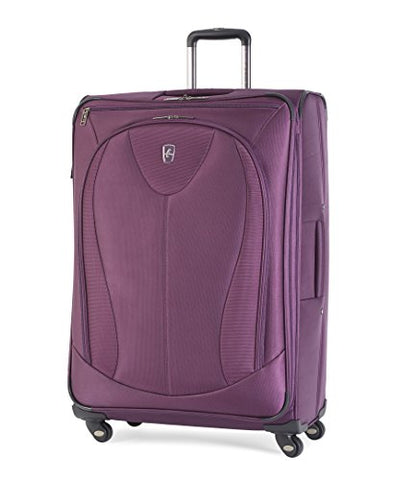 "Atlantic Luggage Ultra Lite 3 29"" Expandable Spinner, Purple"