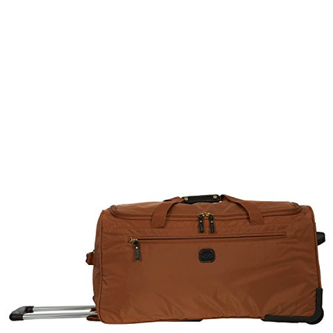 Bric's X-Bag 28-Inch Rolling Duffel (Orange)