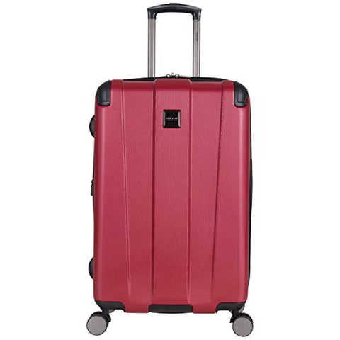 Reaction Kenneth Cole Continuum Red Spinner Suitcase - 24 Inch