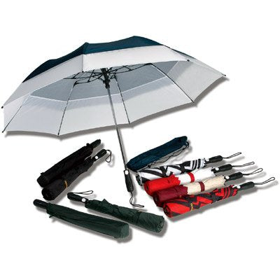 Windbrella Products Corp. 58-inch Georgetown Folder Plus Umbrella - Navy 40458NA