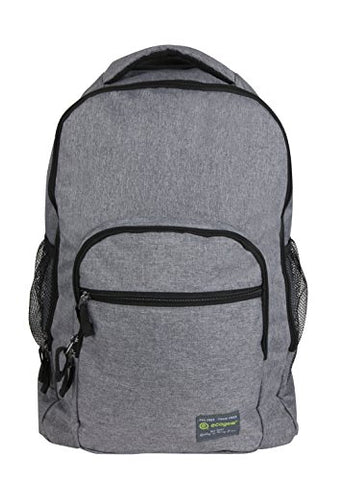 ecogear Laptop Rolling Dhole Backpack, Heather Grey One Size