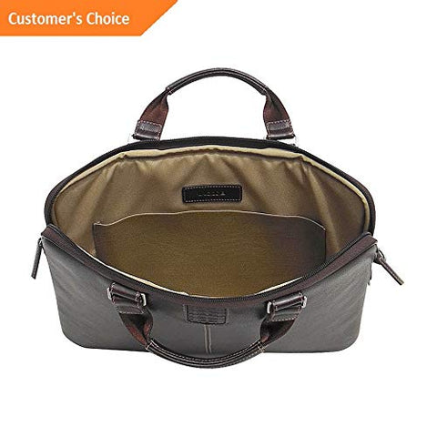 Sandover Boconi Tyler Tumbled Sleeve Brief 2 Colors Non-Wheeled Business Case NEW | Model LGGG -