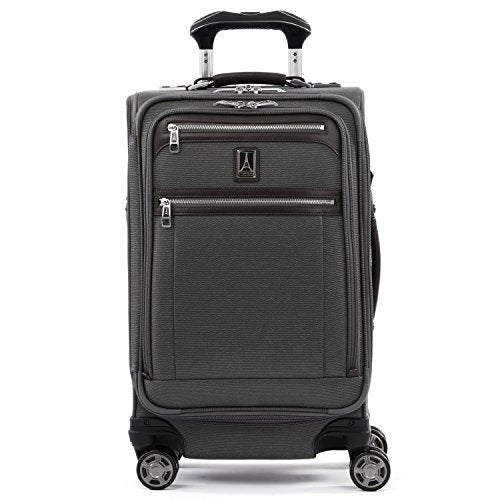 Travelpro Platinum Elite Expandable Spinner Suitcase, Vintage Grey