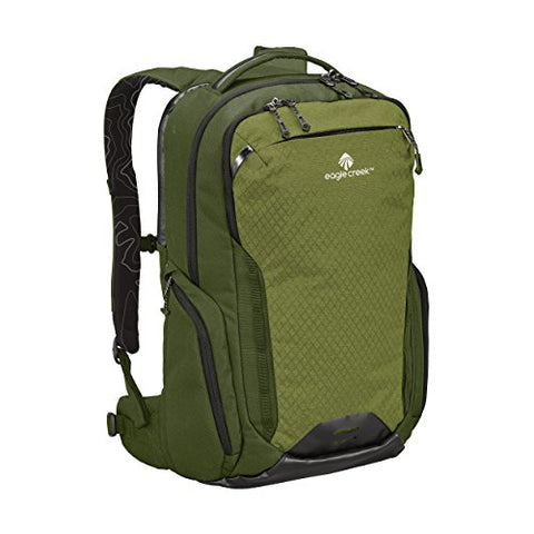 Eagle Creek Wayfinder 40L Backpack-multiuse-17in Laptop Hidden Tech Pocket Carry-On Luggage, Cypress/Highland Green