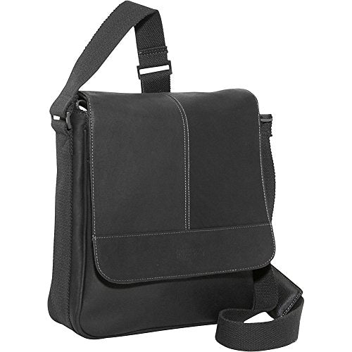 Kenneth Cole Reaction Bag for Good - Colombian Leather iPad/Tablet Day Bag, Black