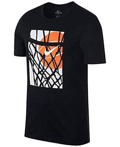 Nike Dri-Fit Hoops T-Shirt (Medium, Black)