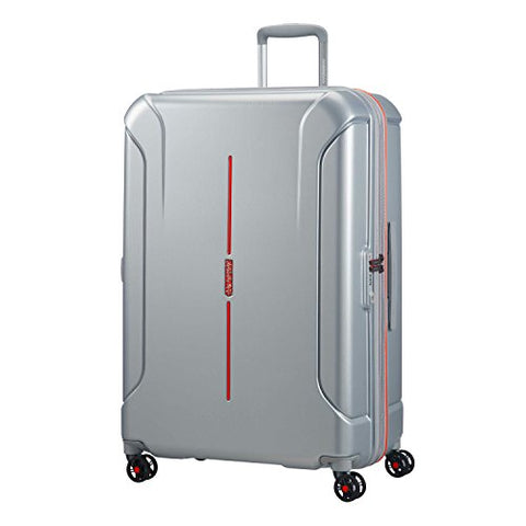 American Tourister Technum Spinner Hardside 28, Grey/Red