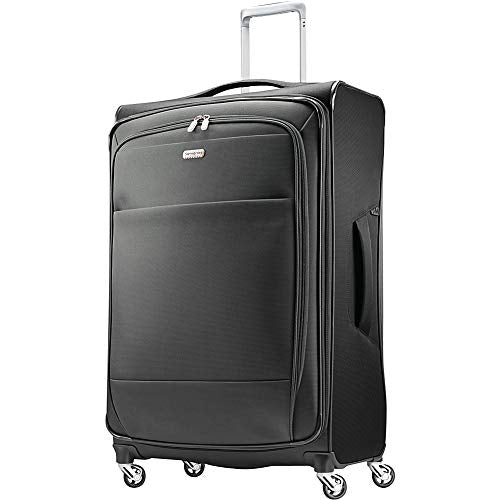 "Samsonite Eco Rev 29"" Expandable Softside Checked Spinner Luggage"