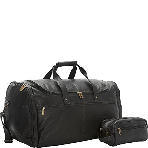David King & Co. Weekend Duffel And Shave Kit Combination - Exclusive (Black)