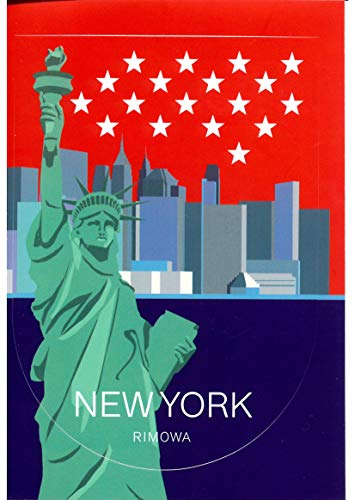 "RIMOWA New York USA country sticker for Topas, Original, Salsa, Essential series for luggage and carry on""Made in Germany"""